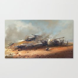 Crashed Y-Wing Canvas Print