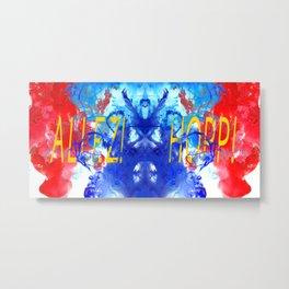 ALLEZ! HOPP! - Diptych Metal Print