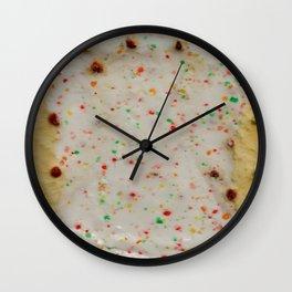 Dessert for Breakfast Wall Clock