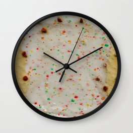 Dessert for Breakfast Wall Clock