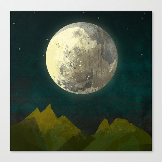 Big Moon Canvas Print