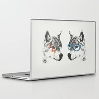blues brothers Laptop & iPad Skins featuring Brothers by Zeke Tucker