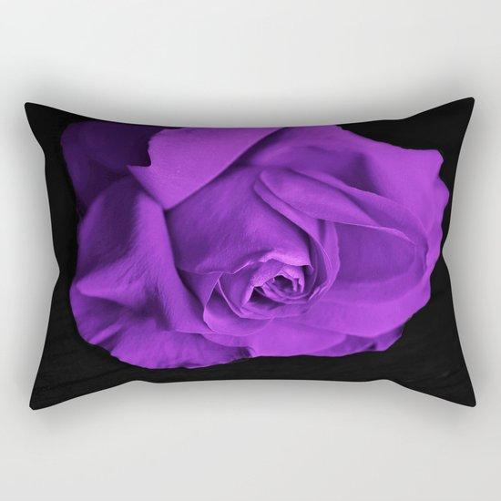 Rose violette purple Rectangular Pillow