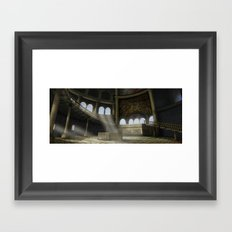 Sacrifices Temple Framed Art Print
