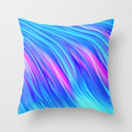 Waterfall,  abstract Throw Pillow