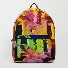 Ancient architecture psycadelic trip Backpack