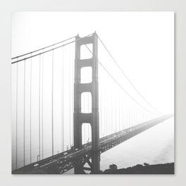 Golden Gate Bridge in San Francisco, California Canvas Print