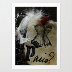 Paris Cabaret Art Print