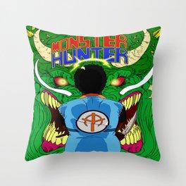 Monster Hunter Throw Pillow