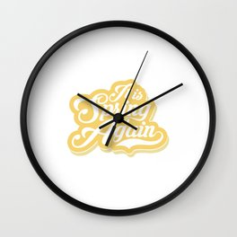 It is spring again Wall Clock