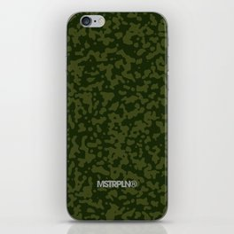 Comp Camouflage / Green iPhone Skin