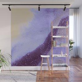 Metallic Watercolor - Moonstone Wall Mural