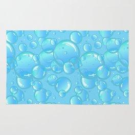 soap bubbles Rug