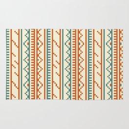 Tribal Embroidery Vintage Pattern Rug