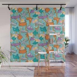 Origami Ocean Wall Mural
