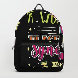 Synonym Definition Backpack