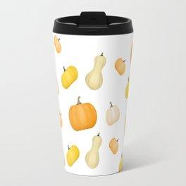 Pumpkins & Squash Pattern Travel Mug