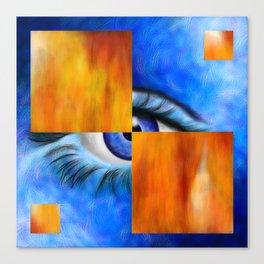 Ersebiossa V1 - hidden eye Canvas Print
