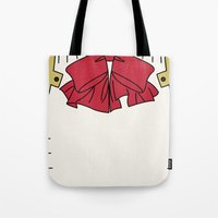 persona Tote Bags featuring Persona 3 Aigis  by Bunny Frost