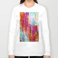 valentines Long Sleeve T-shirts featuring Valentines Brunch by Glint & Lime Art