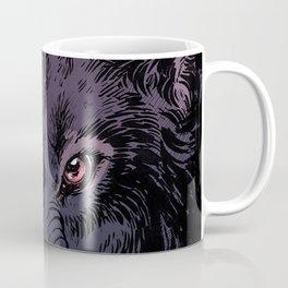 Wolf Howl Sketch Coffee Mug