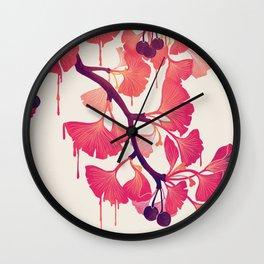 O Ginkgo Wall Clock