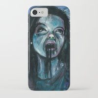 bjork iPhone & iPod Cases featuring BJORK by chris zombieking