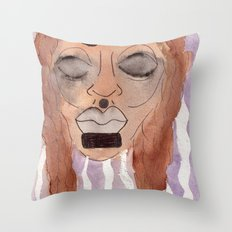 hurt Throw Pillow
