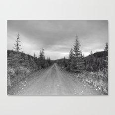 Chemin qui mène nulle-part Canvas Print
