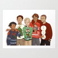 TRC: Sweaters 1 Art Print