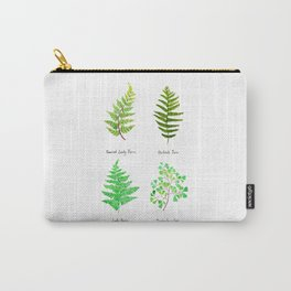fern collection watercolor Carry-All Pouch