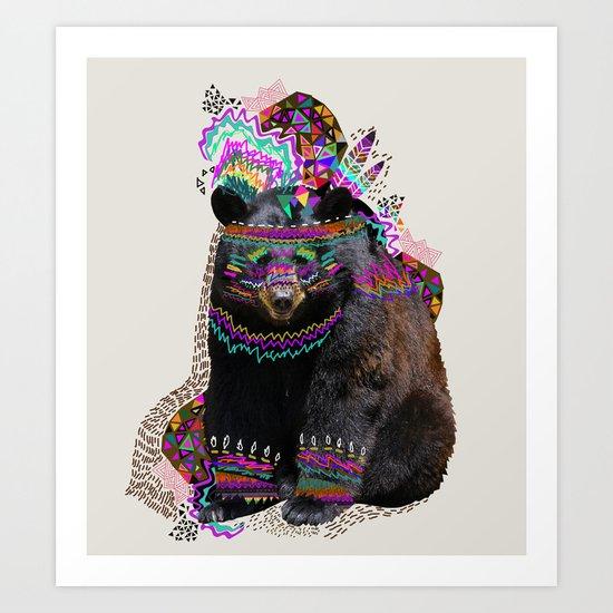 Ohkwari  Art Print