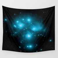 constellation Wall Tapestries featuring Constellation by 2sweet4words Designs