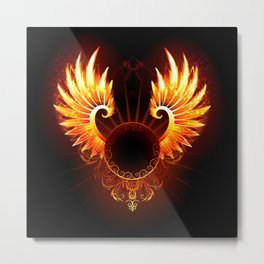 Wings Phoenix Metal Print