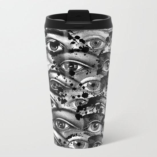Watching You III Metal Travel Mug