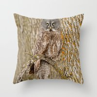 camouflage Throw Pillows featuring Camouflage by owlgoddessphotography