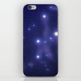 cassiopeia iPhone Skin