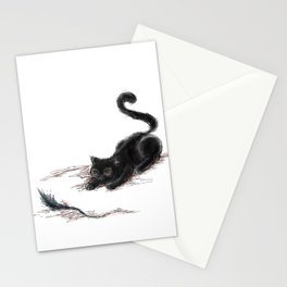 Tail Cat Stationery Cards