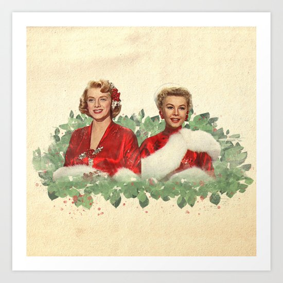 Sisters - A Merry White Christmas by classicmovieart
