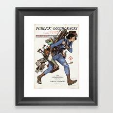 Junktown Vendor Framed Art Print