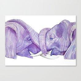Trunk Love Canvas Print