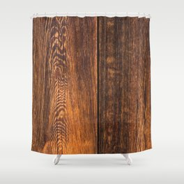 Old wood texture Shower Curtain