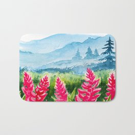 Spring scenery #9 Bath Mat