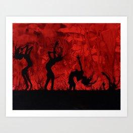 Decomposition - Gloomy Surrealism Art Print