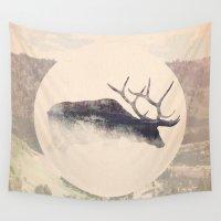 elk Wall Tapestries featuring Elk by hipepper