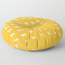 All Dogs (Gold) Floor Pillow