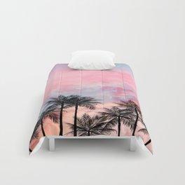 Summer Palm Tree #Society6 #Buyart #Decor Comforters
