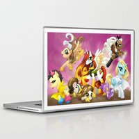 mlp Laptop & iPad Skins featuring MLP X-Women by Kimball Gray