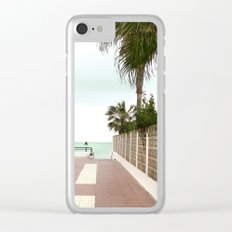 Road to the Beach Clear iPhone Case