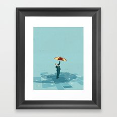 Protection from online abuse Framed Art Print